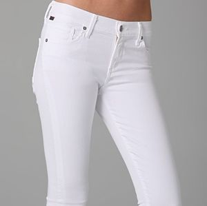 Citizens of Humanity Off White Skinny Jean size 26